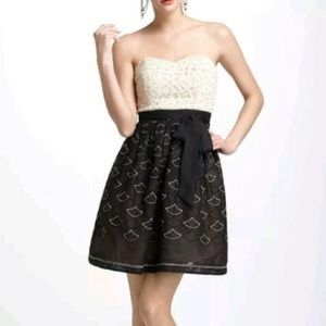 Meadow Rue Battenburg and Organdy Dress Size 4P